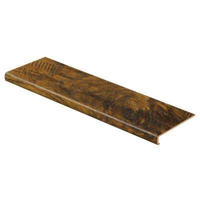 Light Hickory 47 in. Length x 12-1/8 in. Deep x 2-3/16 in. Height Laminate to Cover Stairs 1-1/8 in. to 1-3/4 in. Thick