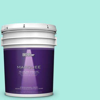 5 gal. #MQ4-23 Aloha One-Coat Hide Eggshell Interior Paint