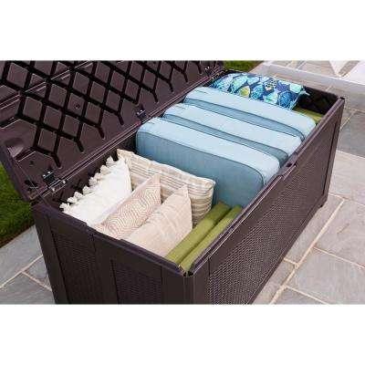134 Gal. XL Resin Deck Box