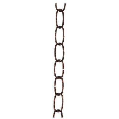 3 ft. Rust Fixture Chain