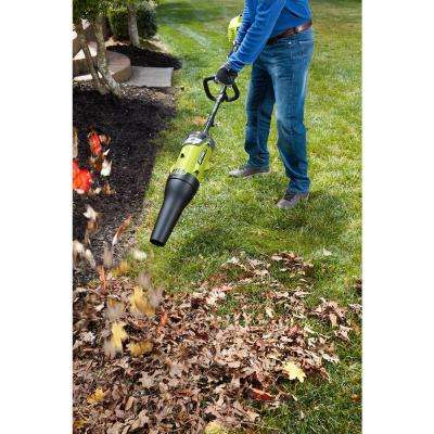 40-Volt X Lithium-Ion Cordless Attachment Capable 140 MPH 475 CFM Axial Blower - 2.6 Ah Battery and Charger Included
