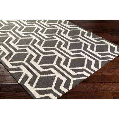 Hilda Gisele Onyx Black 2 ft. x 10 ft. Indoor Runner Rug