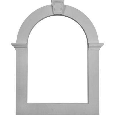 2 in. x 22 in. x 32 in. Gable Louver Trim Vent for Use with GVCA22X32