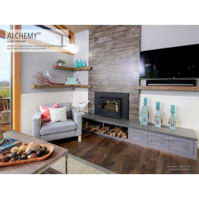 Alchemy Copper 12.44 in. x 18.98 in. x 9mm Porcelain Mesh-Mounted Mosaic Tile (1.64 sq. ft.)