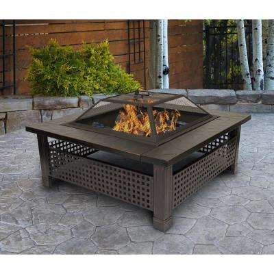 Outdoor Leisure Model 5501 Thirty Inch Firepit with Oil Rubbed Bronze Finish