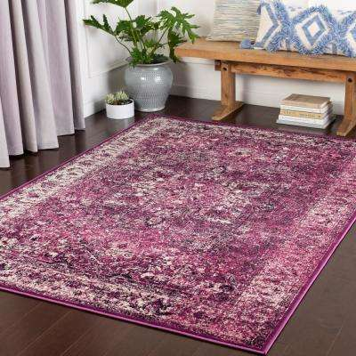Madrid Purple 2 ft. x 3 ft. Oriental Area Rug