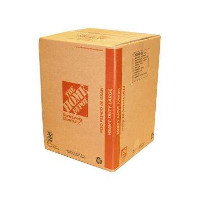 18 in. x 18 in. x 24 in. 65 lb. Capacity Heavy-Duty Large Moving Box