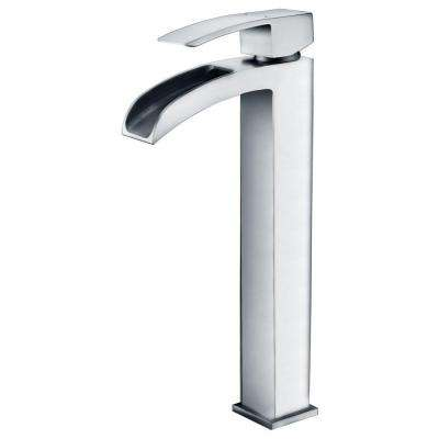 Key Series Single Hole Single-Handle Vessel Bathroom Faucet in Polished Chrome