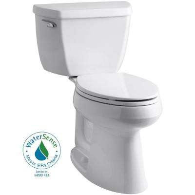 Highline Classic the Complete Solution 2-piece 1.28 GPF Single Flush Elongated Toilet in White