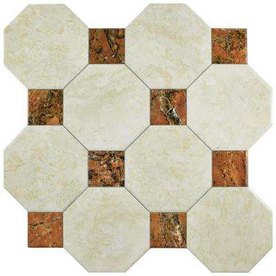 Opal Rubi 17-3/4 in. x 17-3/4 in. Ceramic Floor and Wall Tile (17.87 sq. ft. / case)
