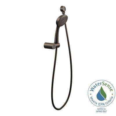 3-Spray Handheld Hand Shower and Slide Bar in Oil Rubbed Bronze