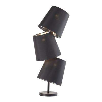 Cosmology 31.5 in. Black Table Lamp