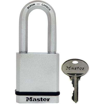 Magnum 2 in. Rekeyable Solid Body Padlock with 2 in. Shackle