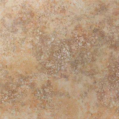 Tuscany Desert 13 in. x 13 in. Glazed Porcelain Floor & Wall Tile-DISCONTINUED