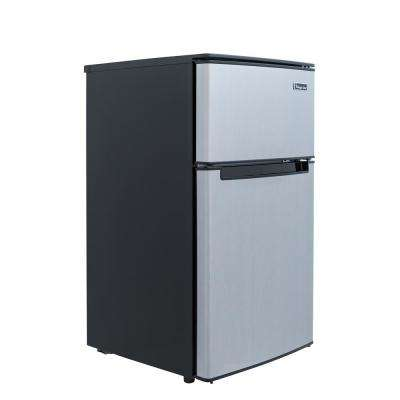3.1 cu. ft. Mini Refrigerator in Stainless Look