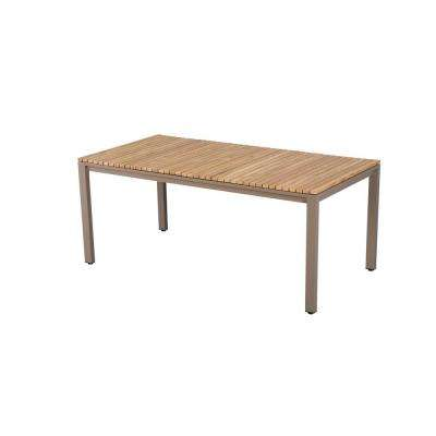 Barnsdale Teak Rectangular Patio Dining Table