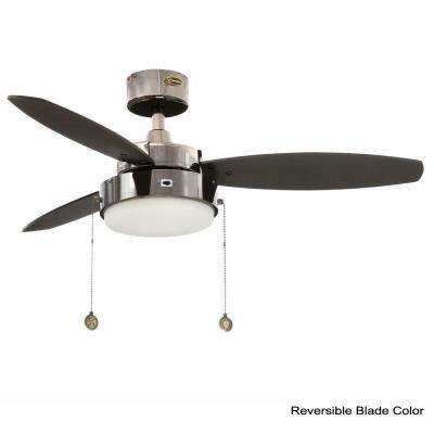 Alloy 42 in. Indoor Gun Metal Ceiling Fan