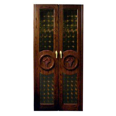 440-Concord Two Grape Motif Glass Doors, LLF