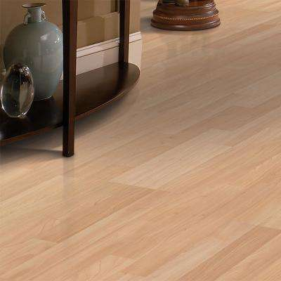 Willow Creek Natural Maple 8 mm Thick x 7.48 in. Wide x 47.24 in. Length Laminate Flooring (17.18 sq. ft./case)
