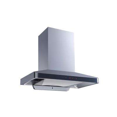 36 in. 900 CFM Ducted Wall Mount Range Hood in Stainless Steel with Panel, Baffle Filter, Touch Control and Self Clean