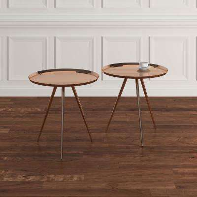Ilex Copper Accent Tables (Set of 2)