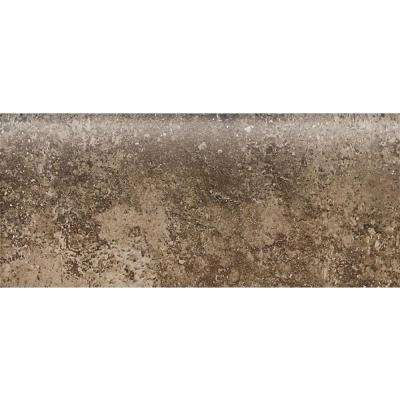 Santa Barbara Pacific Sand 2 in. x 6 in. Ceramic Bullnose Wall Tile