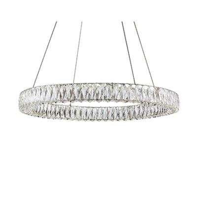 Kara 1-Light 60-Watt Equivalence Chrome Integrated LED Pendant