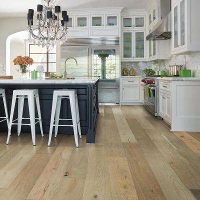 French Oak Surfside 1/2 in. T x 7.5 in. W x Varying Length Engineered Click Hardwood Flooring (23.44 sq. ft./case)