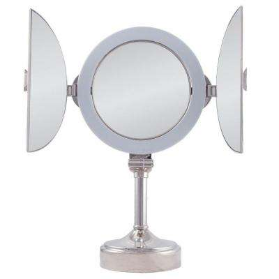 Tri Fold Wall Mirror tri-view - bathroom mirrors - bath - the home depot