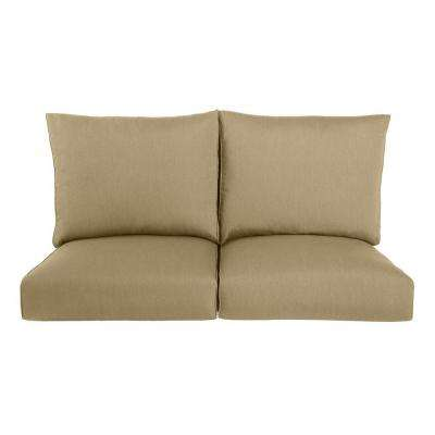 Highland Replacement Outdoor Loveseat Cushion in Meadow