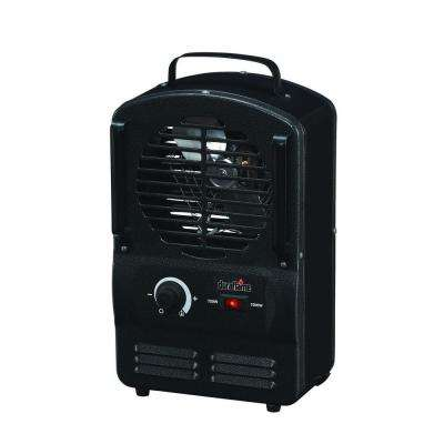 1500-Watt Electric Portable Compact Utility Heater - Black