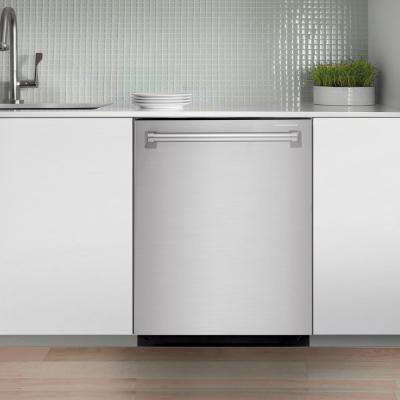 24 in. Top Control Built-In Tall Tub Dishwasher in Fingerprint Resistant Stainless Steel