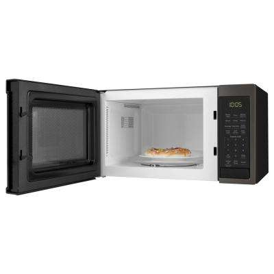 0.9 cu. ft. Countertop Oven in Black Stainless Steel, Fingerprint Resistant
