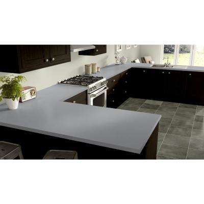 2 in. x 3 in. Laminate Countertop Sample in Cloud Zephyr with Standard Matte Finish