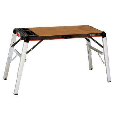 TwoFold 63 in. x 24 in. x 32 in. Workbench and Scaffold