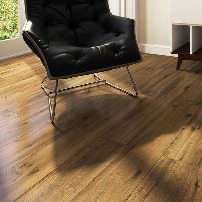 Rathwood Kandel Brown 7.5 in. x 47 in. Porcelain Floor Tile (14.99 sq. ft. / carton)