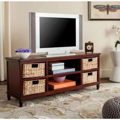 Rooney Entertainment Unit in Cherry