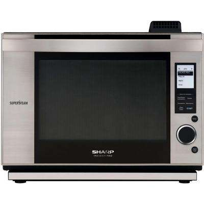 Pro Series 1.0 cu. ft. Countertop Convection Microwave in Stainless Steel with Sensor Cooking-DISCONTINUED