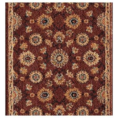 Kurdamir II Alhambra Chestnut 26 in. x Your Choice Length Roll Runner