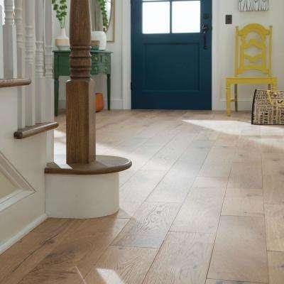 Castlebury Wimborne Eurosawn White Oak 1/2 in. T x 7 in. W x Random Length Eng Hardwood Flooring (31 sq. ft. / case)
