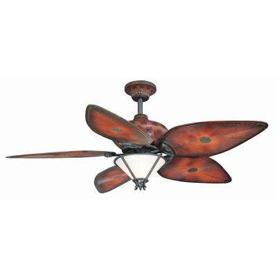 San Lucas 56 in. Indoor/Outdoor Natural Iron Ceiling Fan