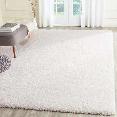 Area Rug California White 8 Ft X 10