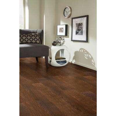 Take Home Sample - Rustic Barn Engineered Waterproof Hardwood Flooring - 5 in. Width x 6 in. Length