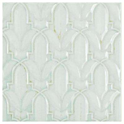 Country Lis Decor Blanco 5-7/8 in. x 5-7/8 in. Ceramic Wall Tile (11.46 sq. ft. / case)