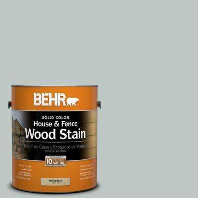 1-gal. #SC-365 Cape Cod Solid Color House and Fence Wood Stain