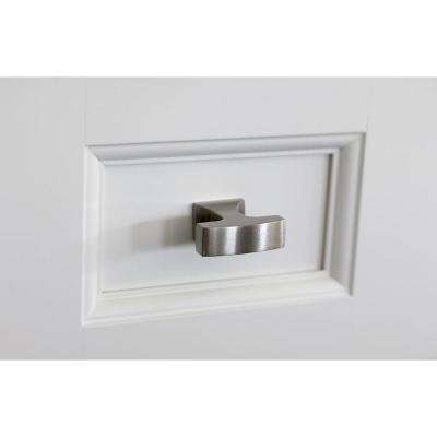 Westerly 1-5/16 in (33 mm) Length Polished Nickel Cabinet Knob