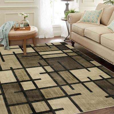 Fairfield Oyster 8 ft. x 8 ft. Square Area Rug