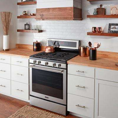 4 ft. 2 in. L x 2 ft. 1 in. D x 1.5 in. T Butcher Block Countertop in Unfinished Hevea Wood