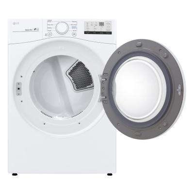 7.4 cu. ft. Smart White Gas Vented Dryer with Sensor Dry