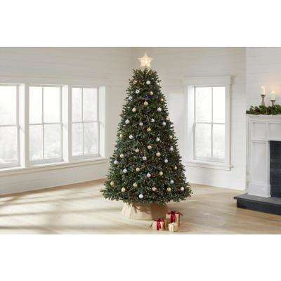 7.5 ft Cavalier Frasier Fir LED Pre-Lit Artificial Christmas Tree with 5000 Color Changing Lights and 8 Functions